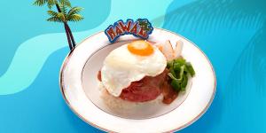 미국산 부채살로 만드는 하와이 로코모코 레시피